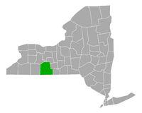 Karte von Steuben in New York - Map of Steuben in New York