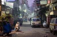 Paharganj District in Delhi, India