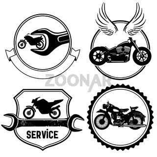 Motorrad Zeichen.eps