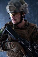 modern warfare soldier