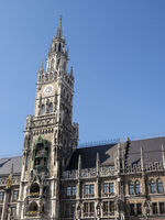 City Hall Munich at Marienplatz