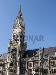 Rathaus am Marienplatz - München