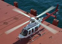helicopter at ship board