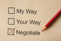 Negotiate and compromise related check boxes