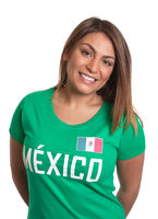 Laughing mexican girl