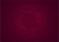 Roter Kreis Halbton Hintergrund
