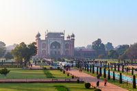 Taj Mahal Gate view, India, Uttar Pradesh, Agra