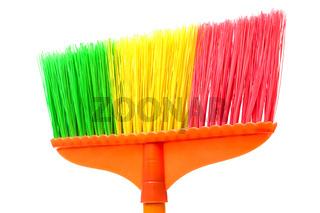 a brush the floor