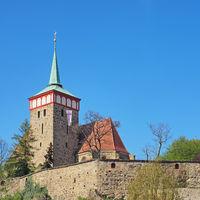 Michaeliskirche in Bautzen, Sachsen, Deutschland