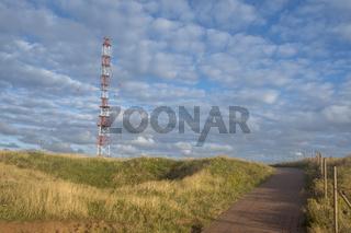 Klippenrandweg und Sendeturm, Helgoland