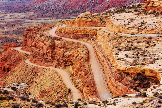 Road in Canyonlands