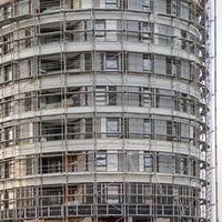 Round Skyscraper Construction