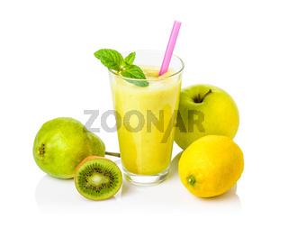 Fruit shake made from fresh fruit