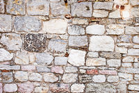 Vintage stone bricks wall background