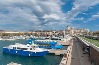 Hafen in Saint-Raphael