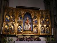 romanische Basilika St. Aposteln - Triptychon Maria mit Jesus