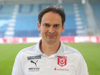 Cheftrainer Florian Schnorrenberg Hallescher FC  DFB 3.Liga Saison 2020-21