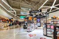Duty Free Shop Flughafen Athen ATH Airport Terminal in Griechenland