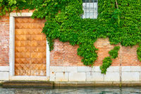 Old house by canal in Venice
