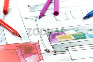 Project interior design