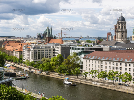 Mitte in Berlin, Deutschland