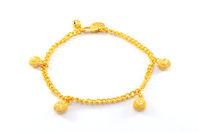 Gold bangle jewelry