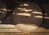 Sailboat nautical mooring rope