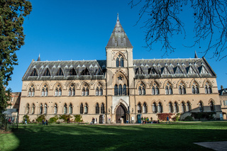 The Pitt Rivers Museum, Oxford, England