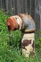 Alter Feuerwehr Hydrant
