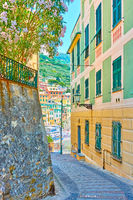 Picturesque italian street