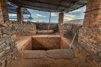Tombs of Kings Kaleb  Gebre Meskel, Aksum Ethiopia