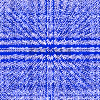 Muster - unendliche Sterne auf blau
