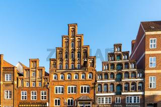impressive historic red brick buildings in downtown Lunenburg