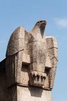Eagle sculpture in Hofburg, Vienna