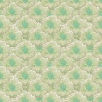 Pale Colors Stylized Flowers Motif Seamless Pattern