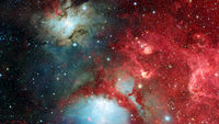 Galaxy about 23 million light years away. Elements of this image furnished by NASA