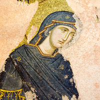 Mosaic of Virgin Mary