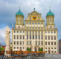 Historic town hall of Augsburg