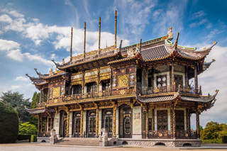 Chinese house building in Brussels, Belgium