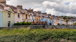 Houses in Paignton, Torbay, England