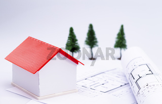 Planning of house construction