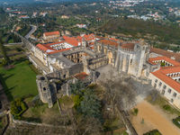 Monastery Convent of Christ in Portugal