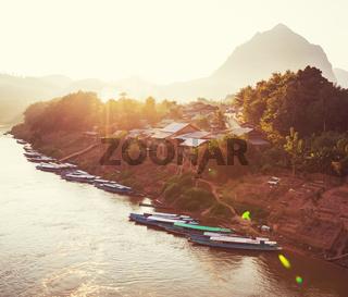 River in Laos