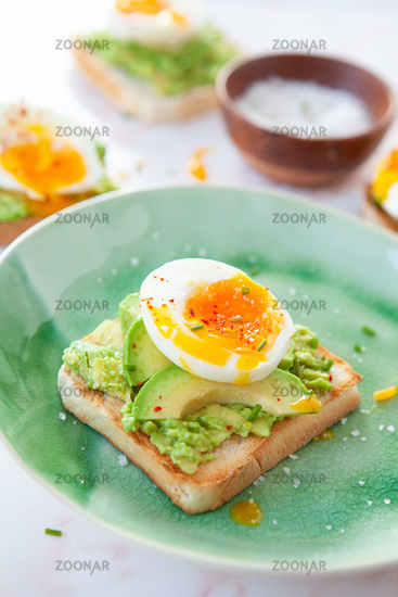 Leckerer Avocado Toast