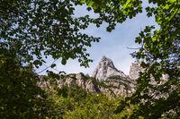 Blick auf die Mühlsturzhörner im Berchtesgadener Land