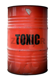Toxic Waste Barrel