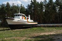 Forschungsschiff von Greenpeace Beluga