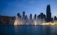 Popular location near singing fountains and Burj Khalifa. March 13, 2020