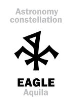 Astrology: EAGLE (Aquila) constellation