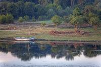 Altes Boot am Nilufer